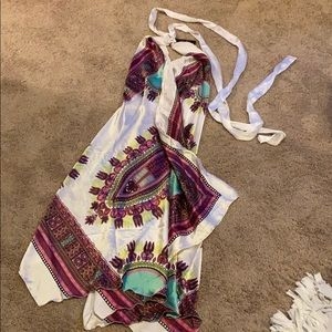 Handkerchief Beach Dress One Size